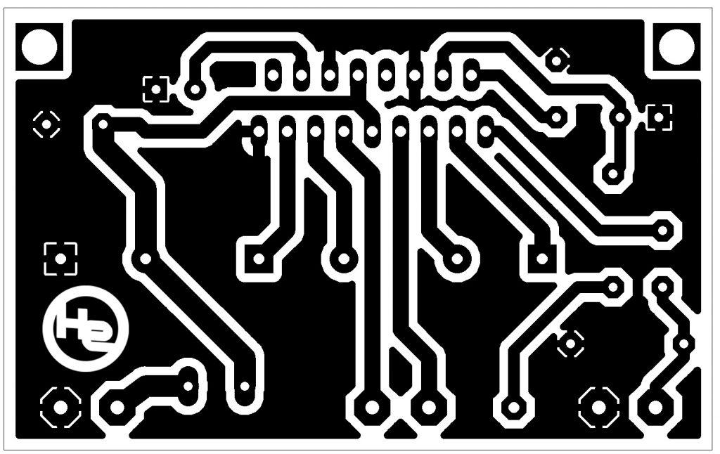 TDA1562Q zesilovač schéma