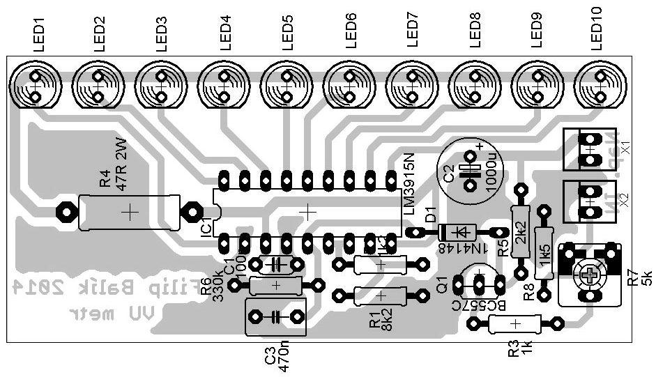 indikátor vybuzení dps