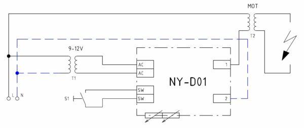 NY-D01 zapojení