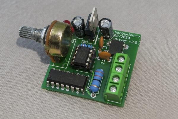 pulzní regulátor modelové železnice