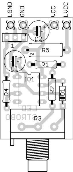 LED stroboskop