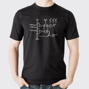 triko tričko NE555